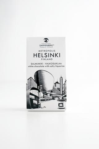 Dammenberg 55g Helsinki salmiakki- valkosuklaa