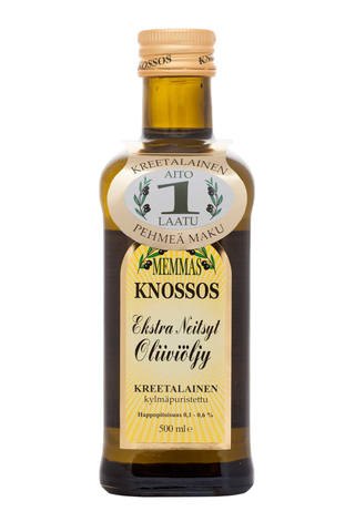 Memmas Knossos Extra Neitsytoliiviöljy 500 ml