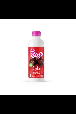 MySoda Cola 0,5l kolanmakuinen virvoitusjuomatiiviste