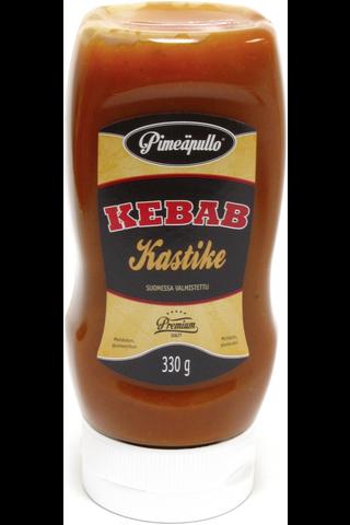 Pimeäpullo 330g Kebabkastike