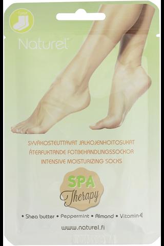 Naturel 1pari Syväkosteuttavat sukat