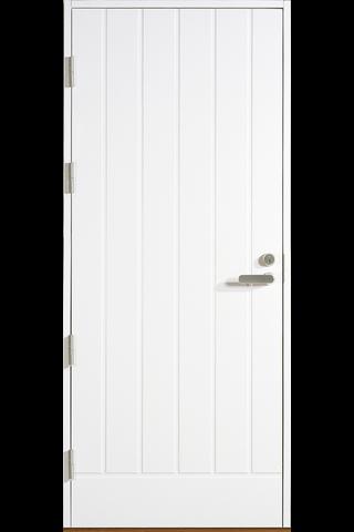 HALLTEX Ovet Simeoni valkoinen 10x21 vasen