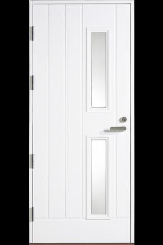HALLTEX Ovet Lauri valkoinen 9x21 vasen