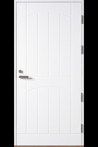HALLTEX Ovet Aapo valkoinen 9x21 oikea