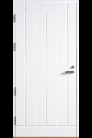 HALLTEX Ovet Aapo valkoinen 10x21 vasen