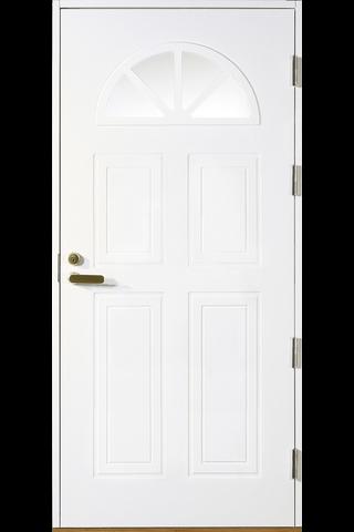 HALLTEX Ovet Anna valkoinen 9x21 oikea