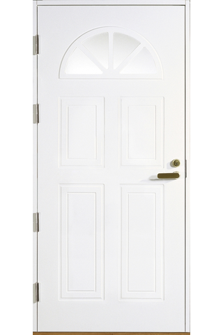 HALLTEX Ovet Anna valkoinen 10x21 vasen