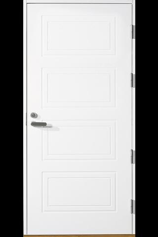 HALLTEX Ovet Aino valkoinen umpi 10x21 oikea