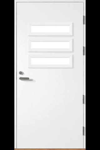 HALLTEX Ovet Heta 03 valkoinen 9x21 oikea
