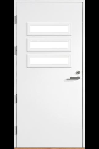 HALLTEX Ovet Heta 03 valkoinen 9x21 vasen