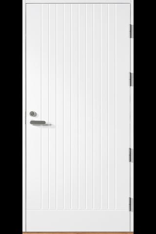 HALLTEX Ovet Toivo 01 valkoinen 9x21 oikea