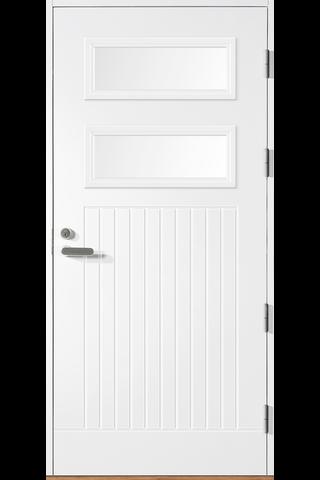 HALLTEX Ovet Toivo 03 valkoinen 10x21 oikea