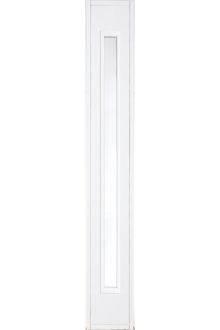 HALLTEX Ovet Kiinteä levike L01 valkoinen 3x21