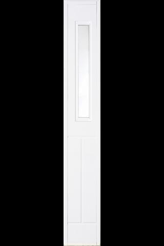 HALLTEX Ovet Kiinteä levike L02 valkoinen 3x21