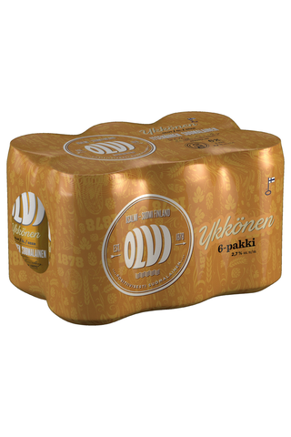 OLVI 6x0,33L tlk kutiste Ykkönen 2,7% olut