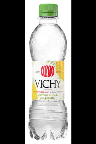 OLVI Vichy+Mg Sitruuna&Lime 0,5 l kmp