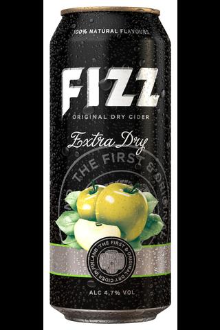 FIZZ 0,5L Extra Dry 4,7% tölkki