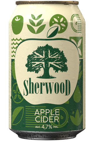 Olvi Sherwood Apple 4,7% 0,33l tlk siideri