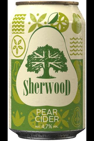 Sherwood Päärynäsiideri 4,7% 0,33 l tlk