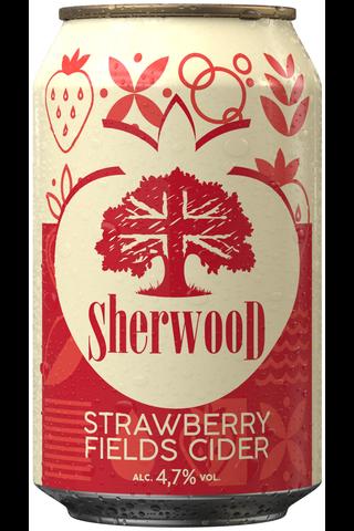 Sherwood 0,33L Strawberry Fields cider 4,7% tlk