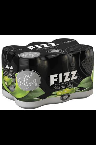 6 x Fizz Extra Dry siideri 4,7% 0,33 l tlk kutiste