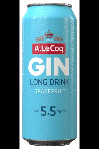 A. Le Coq Greippi GIN 5,5% lonkero 0,5 l tlk