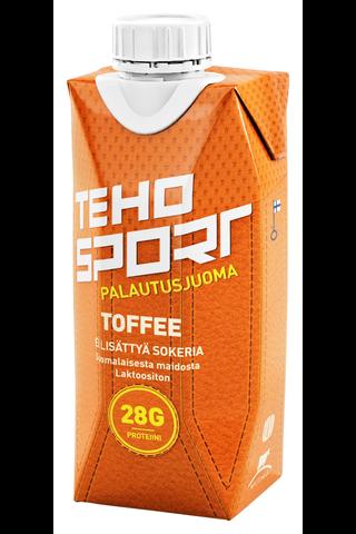 TEHO Sport ei lisättyä sokeria Toffee palautusjuoma 0,33 l