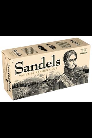 Sandels 18x0,33 L tölkki 4,7 % salkku