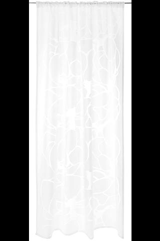 Vallila verho Makeba Fancy 140x250cm valkoinen