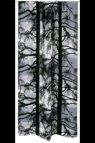 Vallila verho Kelohonka black out 140x250cm harmaa