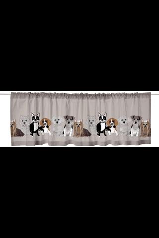 Vallila kappa Doggies 60x250cm savi