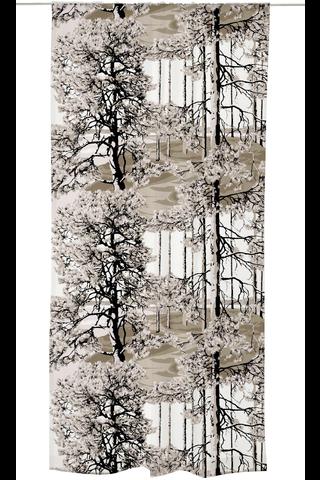 Vallila verho Harju 140x250cm ruskea
