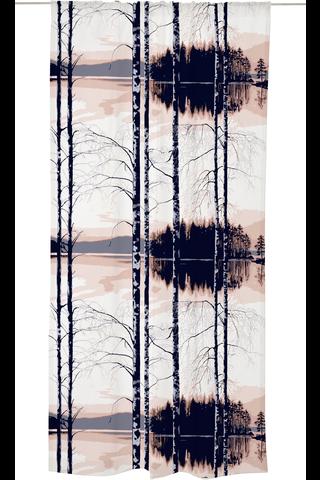 Vallila Illankoi 140x250 cm old rosa verho