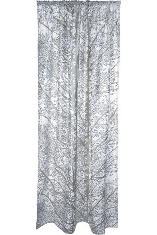 Vallila Pihapuut 140x250 cm silver verho