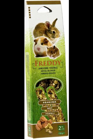 Freddy siementanko jyrsijöille, pähkinä, 2 kpl