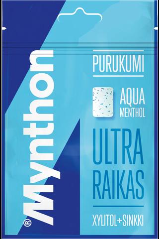 Mynthon Aqua Menthol ksylitolipurukumi 44g