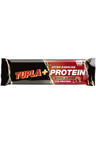 Tupla+ Protein 55g Choco almond proteiinipatukka