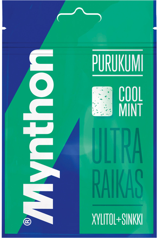 Mynthon 44g Cool mint ksylitolipurukumi