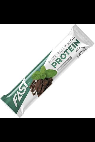 FAST Naturally High Protein 35g minttusuklaa proteiinipatukka
