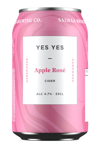 Yes Yes Rosé Apple Cider 4,7% siideri 0,33l tölkki