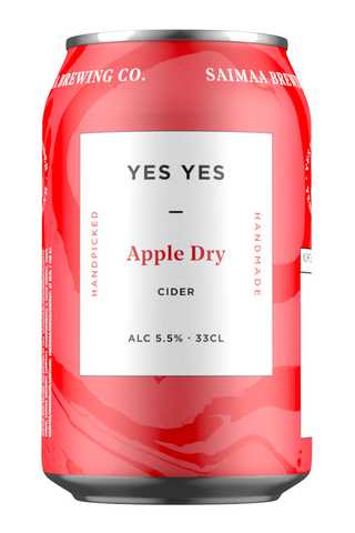Yes Yes Dry Apple Cider 5,5% siideri 0,33l tölkki