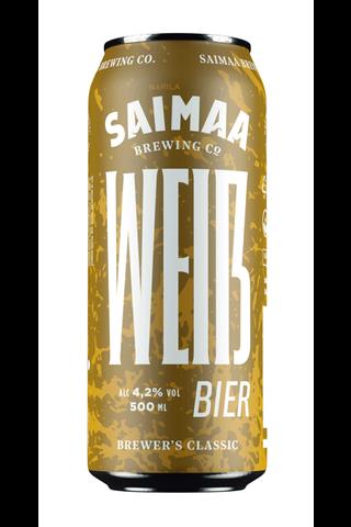 Brewer's Classic Weißbier 4,2% olut 0,5l tölkki