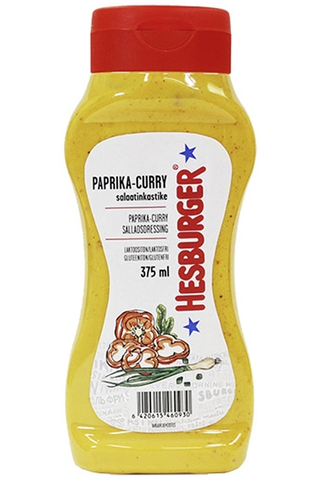 Hesburger Paprika-curry salaatinkastike 375ml