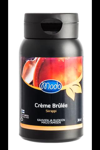 Modo Creme Brulee Siirappi 30cl