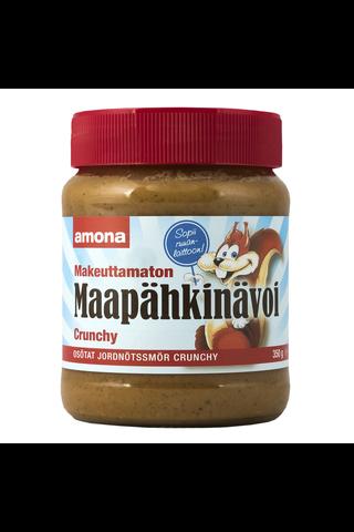 Amona 350g Makeuttamaton Maapähkinävoi Crunchy