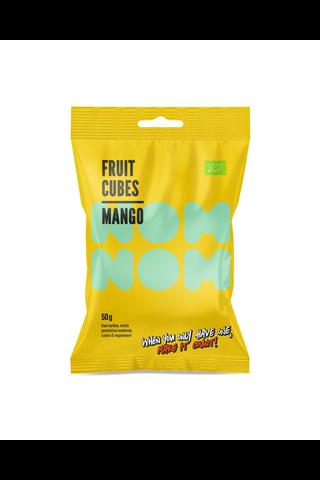 50g NOMNOM Hedelmäkuutio Omena-Mango-Ananas-Passionhedelmä-Appelsiini, luomu