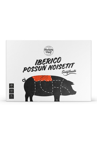 Hungry Chef (6x50g) 300g Iberico Porsaan Filé, pakaste