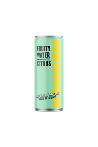 250ml NOMNOM Fruity Water Citrus
