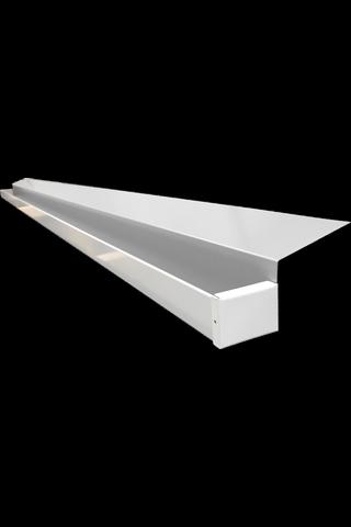 Rainvex räystässuojakouru 395 cm Valkoinen