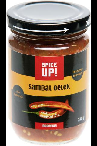 Spice Up! 230g Sambal Oelek chilitahna